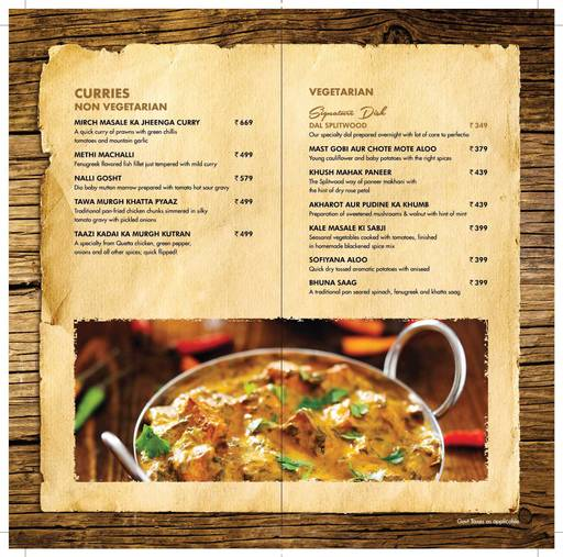 Menu Of Big Pitcher Old Airport Road Bangalore Magicpin