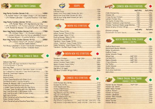 Food Menu 1 - Backstreet Kitchen, Sector 104, Noida