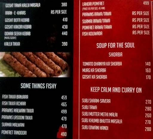 Food Menu 3 of Cafe CO2, Lavale, Pune