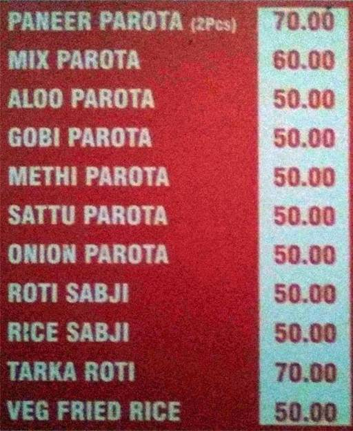 Food Menu 1 of Koshys Calcutta Chats, Brigade Road, Bangalore