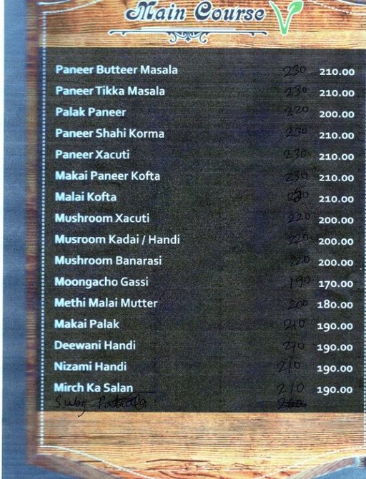 Food Menu 11 of Swathi Deluxe, Kadubeesanahalli, Bangalore