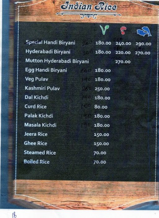 Food Menu 19 of Swathi Deluxe, Kadubeesanahalli, Bangalore