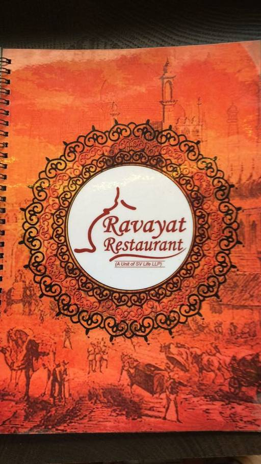 Menu 1 - Ravayat, Connaught Place (CP), New Delhi