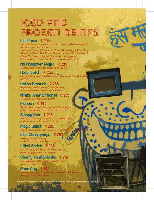 Food Menu 21 of Cafe Delhi Heights Comfort, Saket, New Delhi
