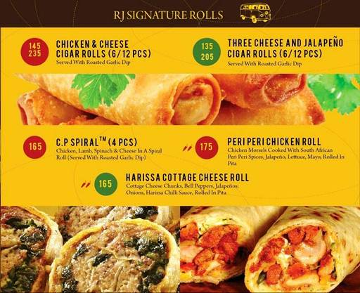Menu 3 - The Rolling Joint, Connaught Place (CP), New Delhi