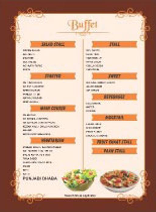 Menu 3 - Shahi Kitchen, Jasola, New Delhi