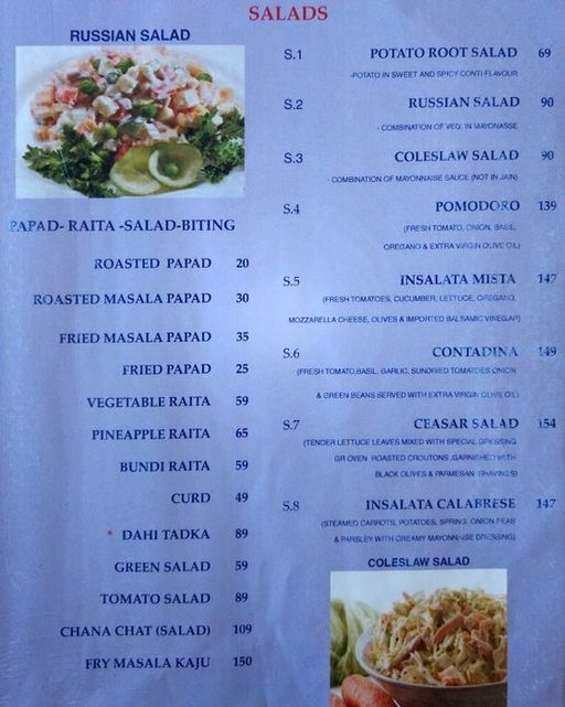 Food Menu 4 of Prithvi Hotel, Mani Nagar, Ahmedabad