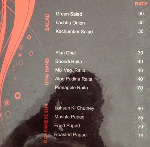 Menu 5 - Blends, Malviya Nagar, Jaipur