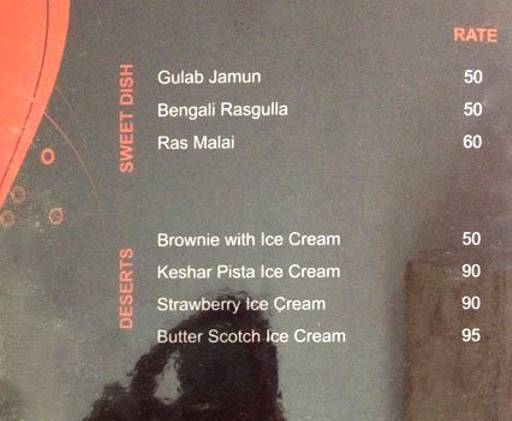 Menu 6 - Blends, Malviya Nagar, Jaipur