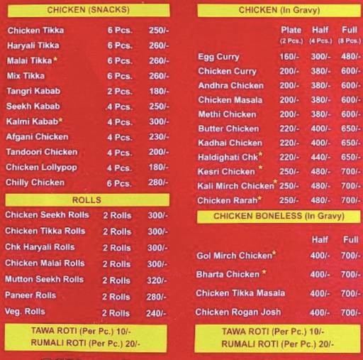 Menu of Talk Of The Town ,Malviya Nagar, Jaipur - magicpin
