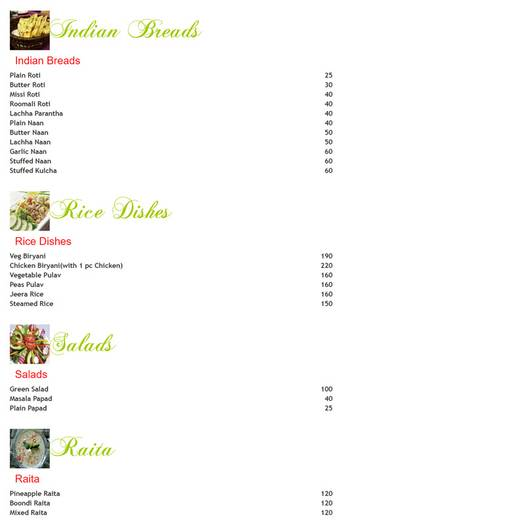 Food Menu 4 of Peprika, Manesar, Gurgaon
