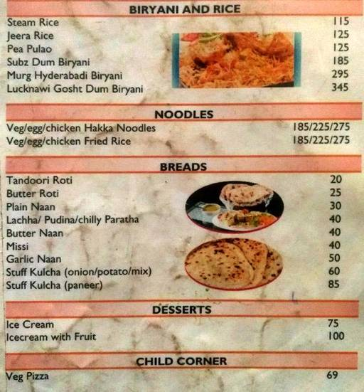 Menu 8 - India Eye, Sector 10 A, Gurgaon
