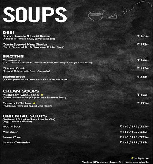 Food Menu 1 of Mystique Melange, Ashok Vihar Phase 2, New Delhi