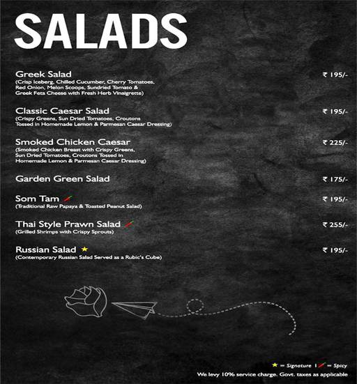 Food Menu 2 of Mystique Melange, Ashok Vihar Phase 2, New Delhi
