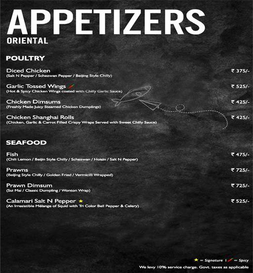 Menu 5 - Mystique Melange, Ashok Vihar Phase 2, New Delhi