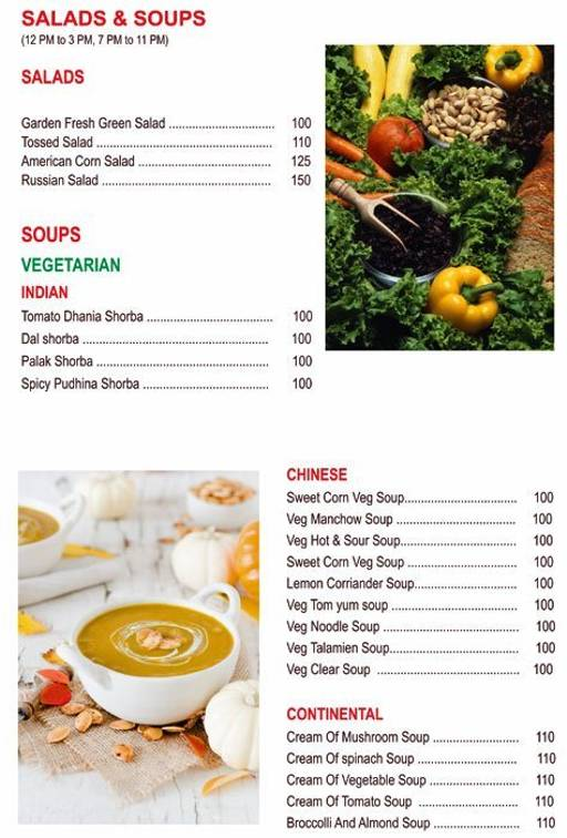 Food Menu 5 - Chef's Bank, Yeshwantpur, Bangalore