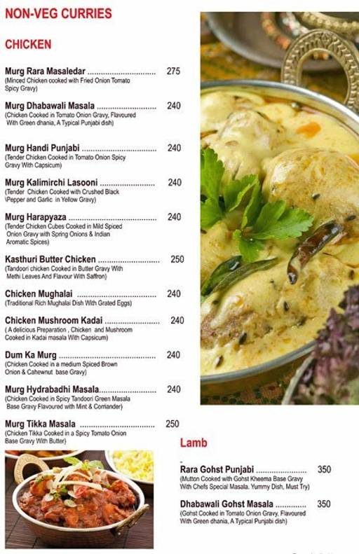 Food Menu 21 of Chef's Bank, Yeshwantpur, Bangalore