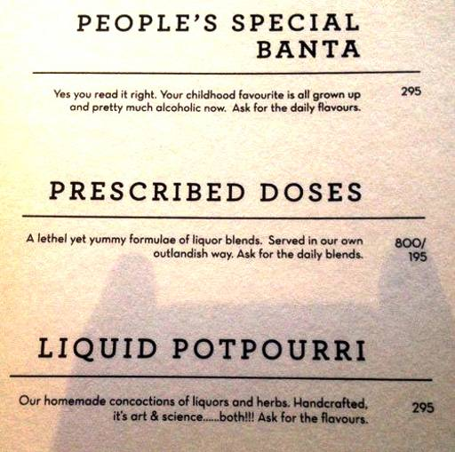 Menu 18 - The People & Co., DLF Cyber City, Gurgaon
