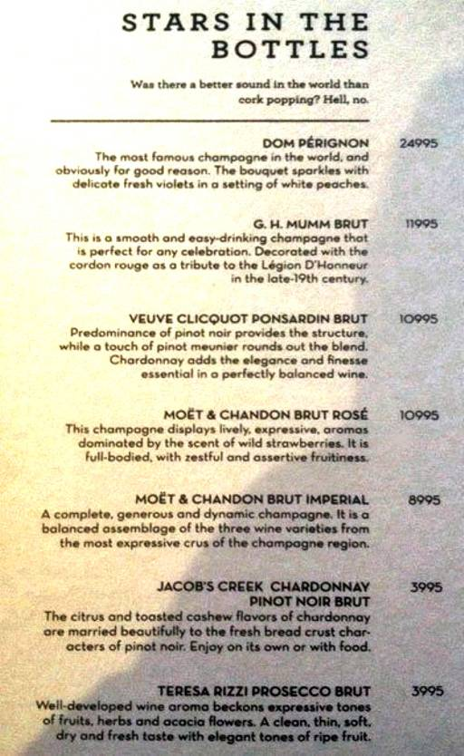 Menu 1 - The People & Co., DLF Cyber City, Gurgaon