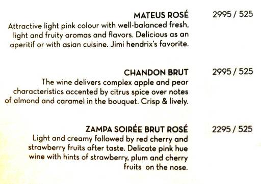 Menu 2 - The People & Co., DLF Cyber City, Gurgaon
