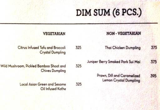 Menu 24 - The People & Co., DLF Cyber City, Gurgaon
