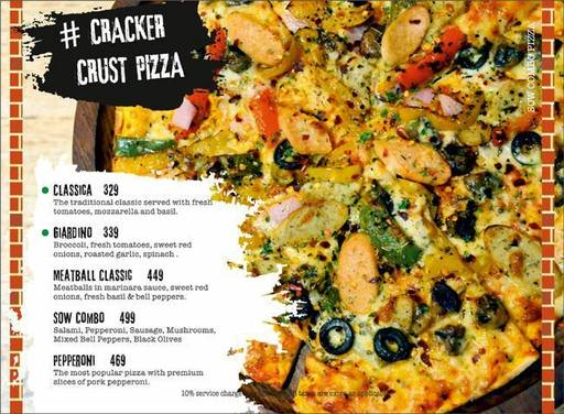 Menu 13 - Smoke On Water, Connaught Place (CP), New Delhi