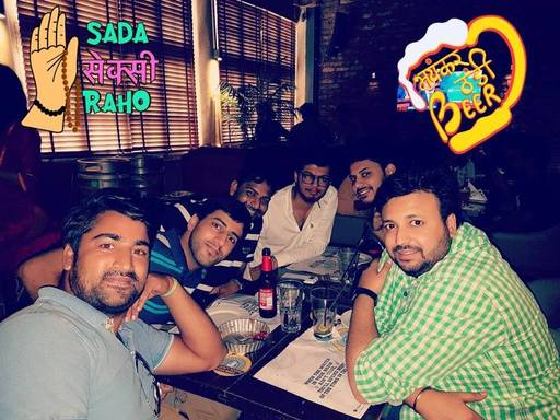 Sudhir jain @ The Beer Cafe - Biggie, Inner Circle, Connaught Place (CP), New Delhi photos