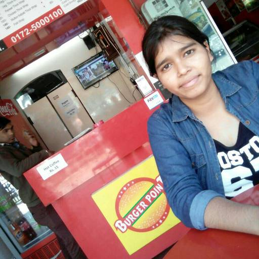 Sakshi @ Burger Point, Sector 15, Chandigarh photos