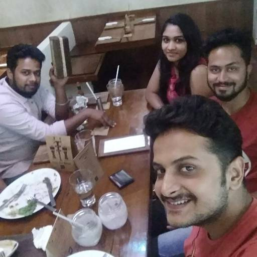 Shubham Gupta at Salt Water Cafe, Bandra West, Mumbai photos