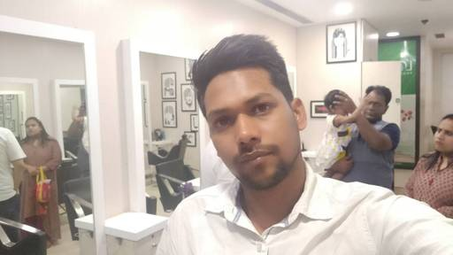 Ritesh Kumar at Hair Code Express, Laxmi Nagar, New Delhi photos