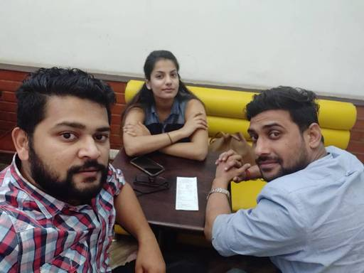 Indrajith at Chaayos, Connaught Place (CP),  photos