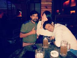 ashish Yadav @ Downtown - Diners & Living Beer Cafe, Sector 29, Gurgaon photos